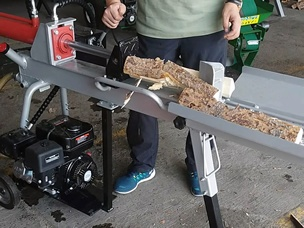 12TON RAPID GASOLINE LOG SPLITTER WITH LEG AND TABLE