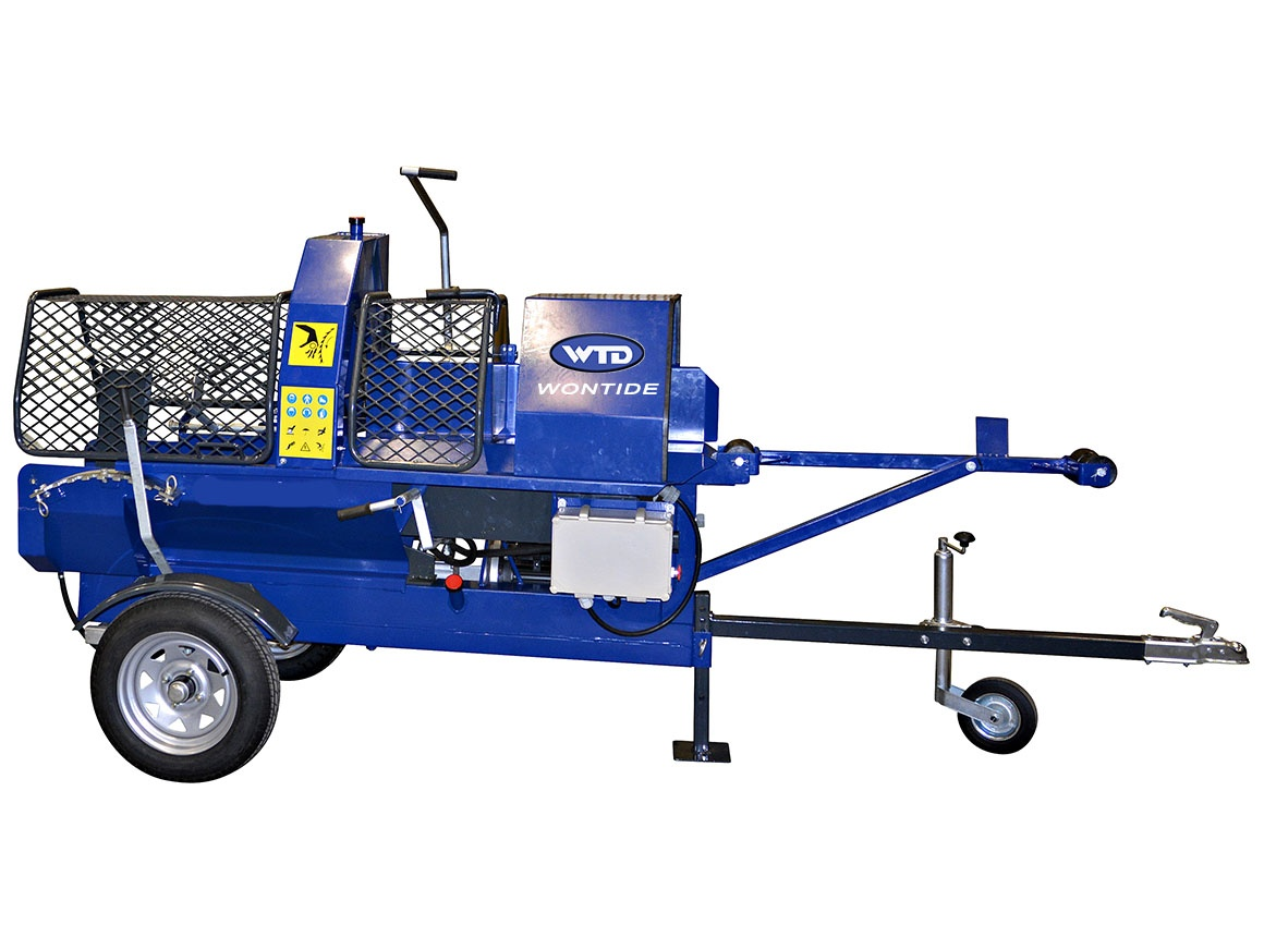 Electric Wood Processor Log splitter 7ton Firewood Splitter