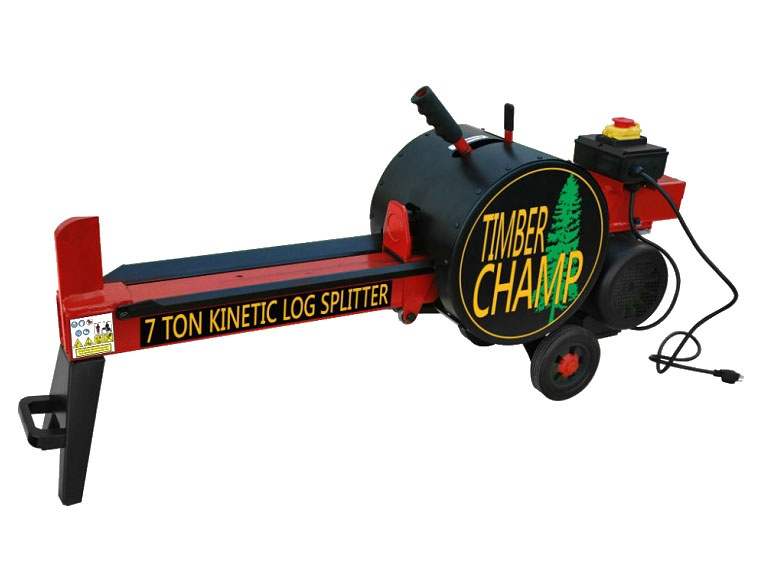 7Ton Rapid Strike Kinetic Log Splitter