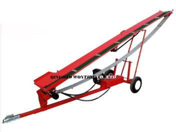 5Meter Gasoline Wood Conveyor Log Conveyor